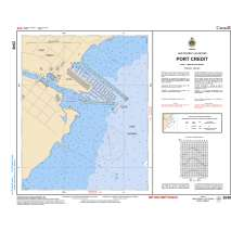 Central and Arctic Region, CHS Chart 2048: Port Credit