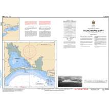 Central and Arctic Region, CHS Chart 2055: Frenchman's Bay