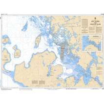 Central and Arctic Region, CHS Chart 2241: Port Severn to/à Christian Island