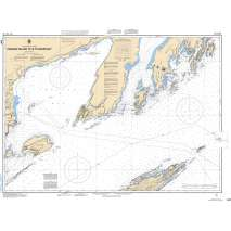 Central and Arctic Region, CHS Chart 2301: Passage Island to/à Thunder Bay
