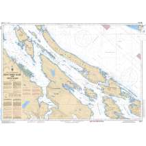 Pacific Region, CHS Chart 3442: North Pender Island to/à Thetis Island