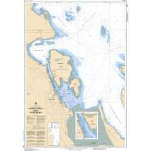 Pacific Region, CHS Chart 3447: Nanaimo Harbour and/et Departure Bay