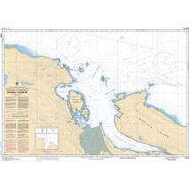 Pacific Region, CHS Chart 3458: Approaches to/Approches à Nanaimo Harbour