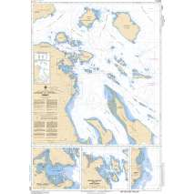 Pacific Region, CHS Chart 3479: Approaches to/Approches à Sidney