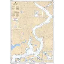 Pacific Region, CHS Chart 3514: Jervis Inlet