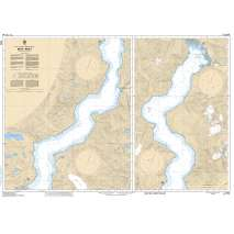 Pacific Region, CHS Chart 3542: Bute Inlet