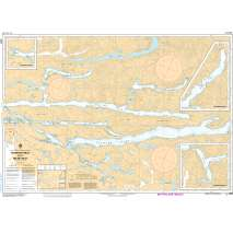 Pacific Region, CHS Chart 3552: Seymour Inlet and/et Belize Inlet