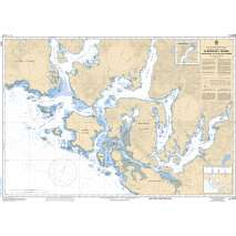 Pacific Region, CHS Chart 3673: Clayoquot Sound, Tofino Inlet to/à Millar Channel
