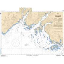 Pacific Region, CHS Chart 3683: Checleset Bay