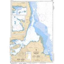 Pacific Region, CHS Chart 3890: Approaches to/Approches à Skidegate Inlet