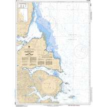 Pacific Region, CHS Chart 3894: Selwyn Inlet to/à Lawn Point