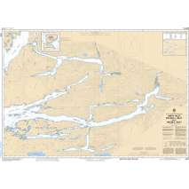 Pacific Region, CHS Chart 3931: Smith Inlet, Boswell Inlet and/et Draney Inlet