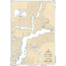 Pacific Region, CHS Chart 3932: Rivers Inlet