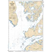 Pacific Region, CHS Chart 3934: Approaches to/Approches à Smith Sound and/et Rivers Inlet