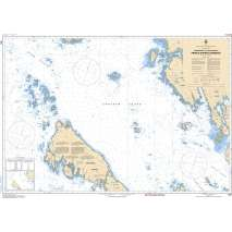 Pacific Region, CHS Chart 3957: Approaches to/Approches à Prince Rupert Harbour