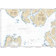Pacific Region, CHS Chart 3960: Approaches to/Approches à Portland Inlet
