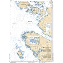 Pacific Region, CHS Chart 3986: Browning Entrance