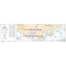 Central and Arctic Region, CHS Chart 2203: Carling Rock to/à Byng Inlet