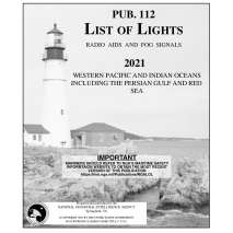 NGA List of Lights, Pub 112 List of Lights: Western Pacific and Indian Oceans