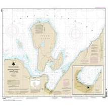 NOAA Great Lakes charts, NOAA Chart 14969: Munising Harbor and Approaches;Munising Harbor