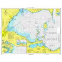 NOAA Training Charts, NOAA Training Chart: 39TR Great Lakes, West End Of Lake Erie