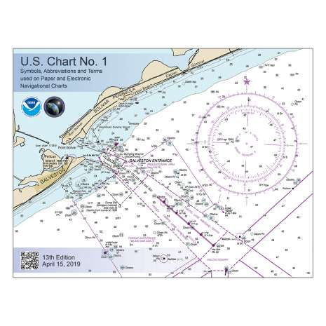 Marine Training, U.S. Chart No. 1: Symbols, Abbreviations and Terms used on Paper and Electronic Navigational Charts, 13th edition